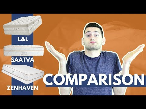 Saatva vs Loom & Leaf vs Zenhaven [Mattress Review and Comparison 2018]