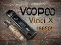 VOOPOO Vinci X 18650 mod pod presentation