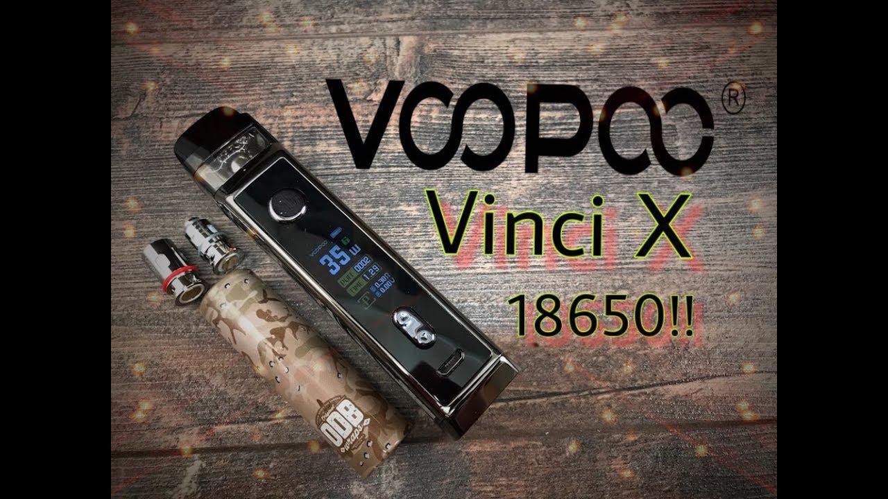 Voopoo Vinci X 18650 Mod Pod Presentation Youtube