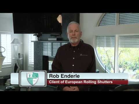 Rob Enderle shares his experience working with European Rolling Shutters (ERS)