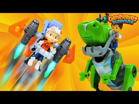Paw Patrol meet Rusty Rivets – Educational Toy Learning Mission for Kids!