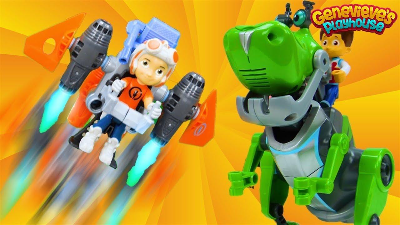 Paw Patrol meet Rusty Rivets - Educational Toy Learning ...