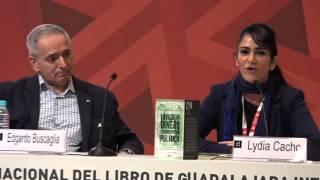 """Aristegui y Lydia Cacho presentan """"Lavado de dinero y corrupción política"""", de E. Buscaglia"""