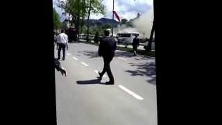 Турция, пожар, автомобиль