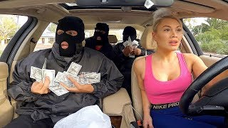 BANK ROBBERY PRANK!  *cops arrested us*
