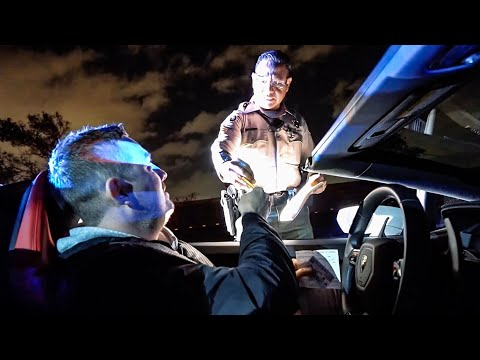 YOU WON'T BELIEVE WHY THIS COP PULLS ME OVER! *Most Ridiculous Ticket In A Lamborghini*