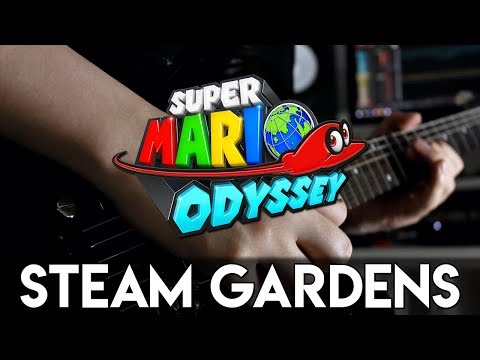 Steam Gardens (Super Mario Odyssey) Guitar Cover | DSC