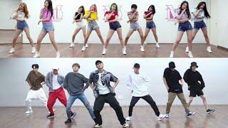 Bts x Momoland  Idol x Baam (Dance Practice)