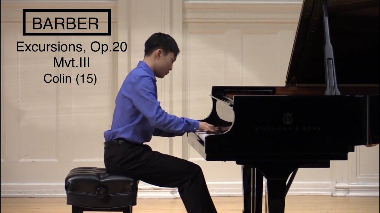 Barber Excursions Op.20 No.3 Allegretto - Colin Choi (15)