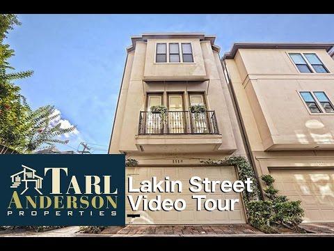 1118 Lakin Street, Houston, TX  77007 Video Tour
