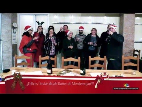 Felices Fiestas desde Baños de Montemayor