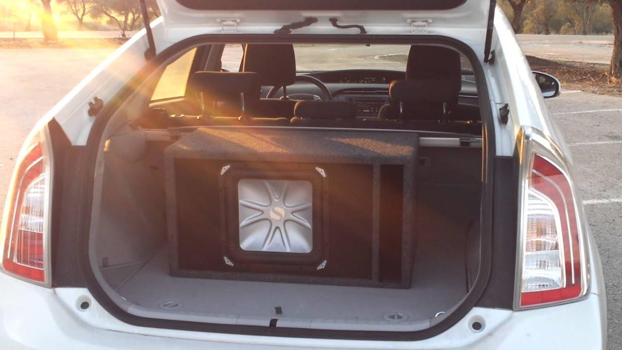 2012 Toyota Prius CRAZY soud system - Kiker L5 + 600 RMS Pionner amp