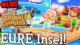 Ich besuche EURE Insel! War sehr toll! - Animal Crossing New Horizons | Livestream-Aufzeichnung