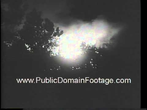 Toledo Ohio paint company fire 1966 newsreel archival footage