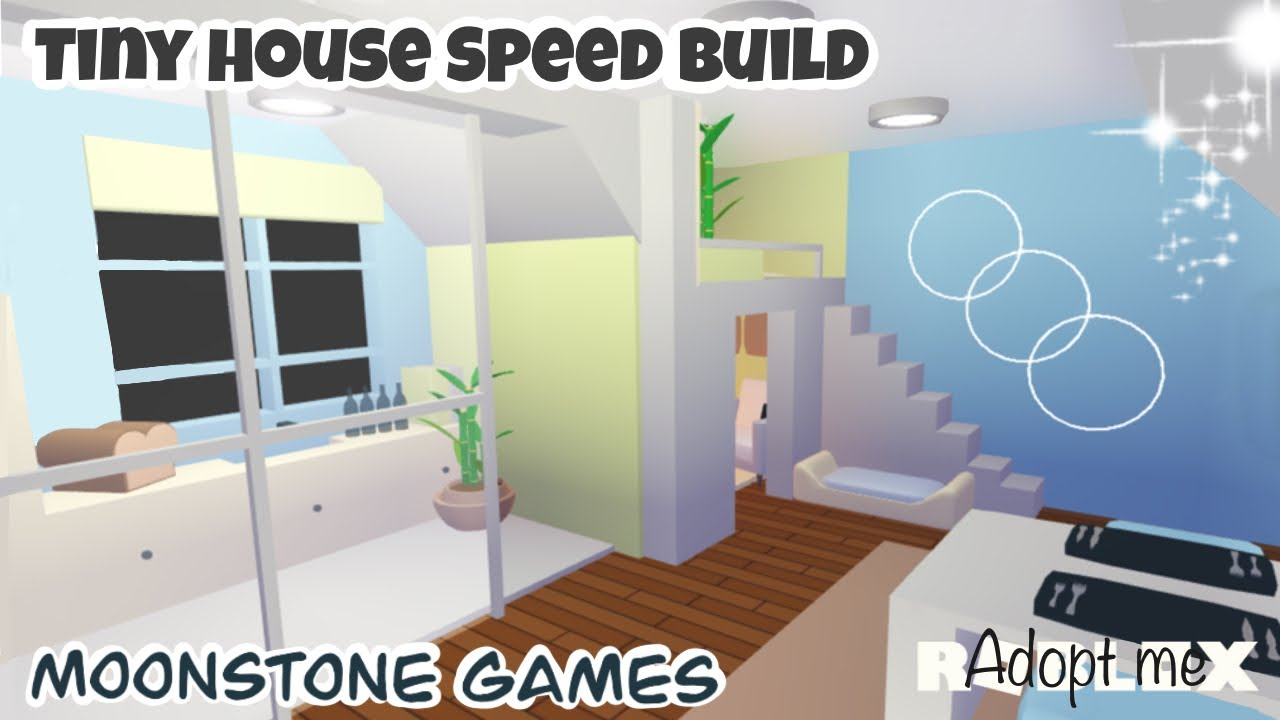 Adopt Me Modern Tiny House Speed Build Adopt Me Pastel House Roblox Aesthetic Home Youtube