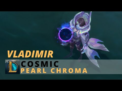 Cosmic Vladimir Pearl Chroma - League Of Legends