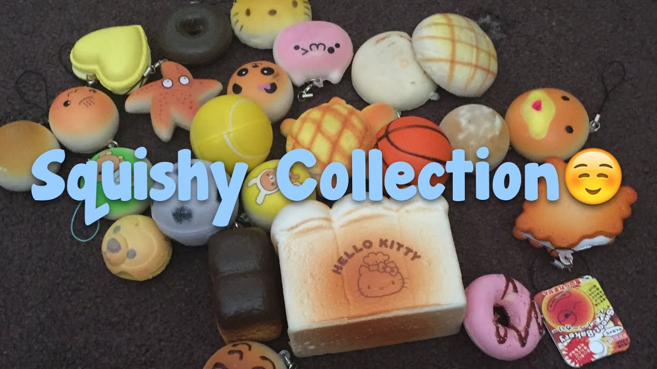 My Squishy Collection 2015 : !!!Squishy Collection!!! - YouTube