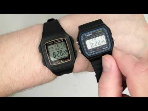 CASIO F-201WA-9 Men's Wristwatch Module 3196 or Module 3238