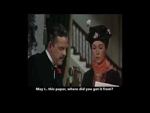 Learn/Practice English with MOVIES (Lesson #9) Title: Mary Poppins