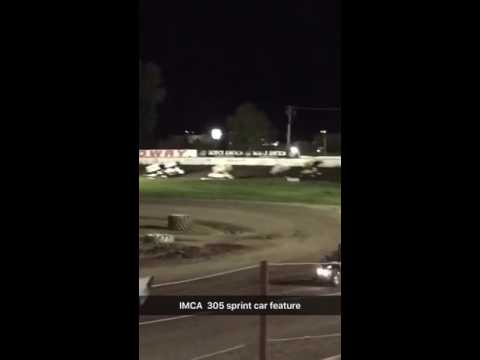 IMCA 305 sprint car feature 8/21/16 (11 cars)