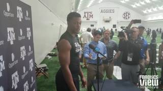 daeshon hall says he s visited the seattle seahawks dallas cowboys 2017