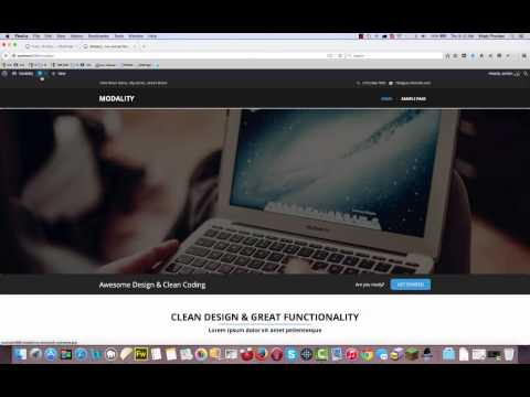 Modality Theme – How to setup image slider