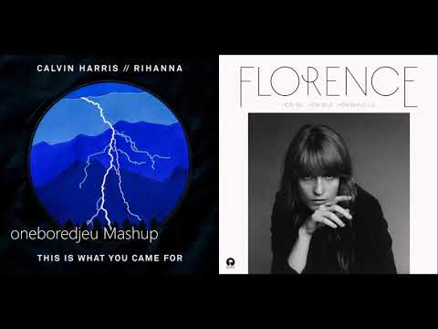 Here Comes The Queen - Calvin Harris vs. Florence + The Machine (Mashup)