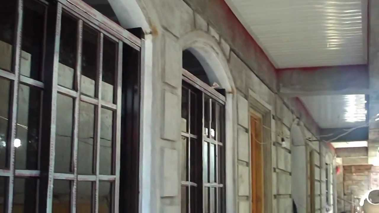 Spandril ceiling and french glass windows ground floor for Window design ground floor