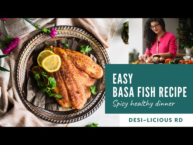 Easy Basa Fish Recipe | Spicy Healthy Dinner