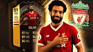 SIF SALAH 89! BETTER THAN THE CENTRAL CARD? FIFA 18 ULTIMATE TEAM