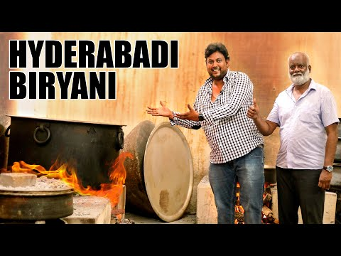 World famous Hyderabad Biryani making |  Hyderabads Oldest Hotel - Niagara