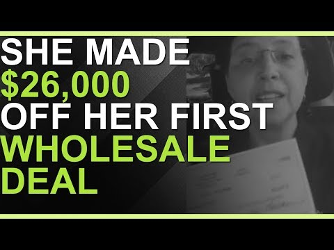 Texas Woman Wholesales Her First House For A HUGE Profit!