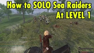 How to Solo Sea Raider from Level 1 - Mount and Blade Warband - xBeau Gaming