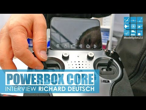 POWERBOX CORE NEW HIGH-END RADIO SYSTEM by POWERBOX-SYSTEMS INTERVIEW RICHARD DEUTSCH JETPOWER