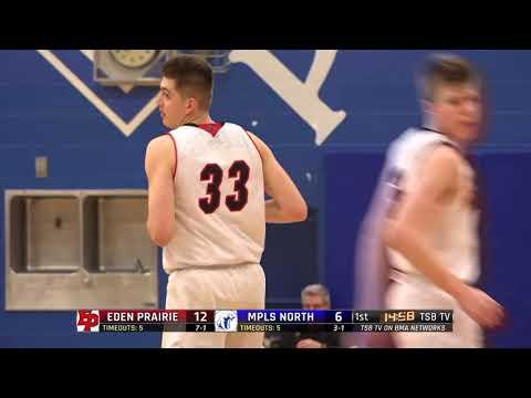 High School Boys Basketball: Eden Prairie vs. Minneapolis North