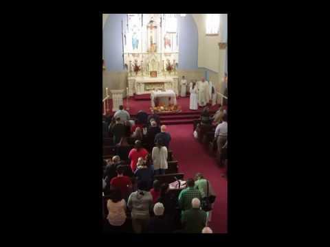 Holy Trinity Mass in Paola KS on MCtvLIVE