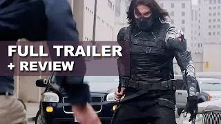 captain america 2 the winter soldier official trailer 2014   trailer review hd plus
