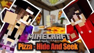 Minecraft PIZZA HIDE AND SEEK: Verstecken spielen in Pizza? Kaan vs Nina! Wer wird sofort gefunden?