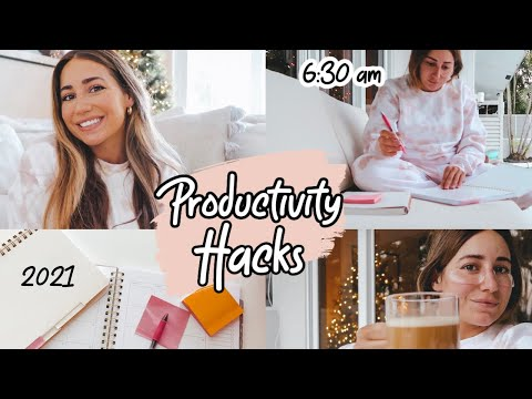 Productivity Hacks You Should Do Every Week! Productive Routine for 2021
