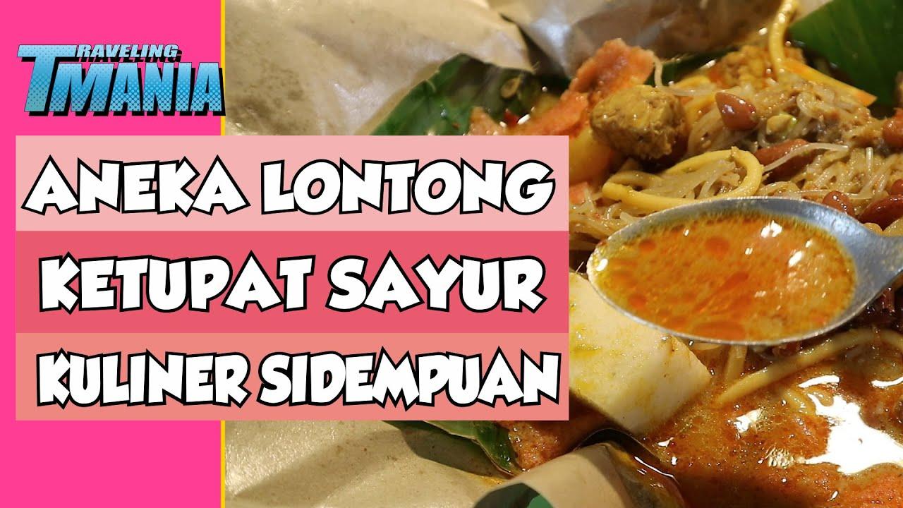 Vlog Kuliner Kota Padang Sidimpuan Kuliner Lontong Sayur Khas Padang Sidimpuan Youtube