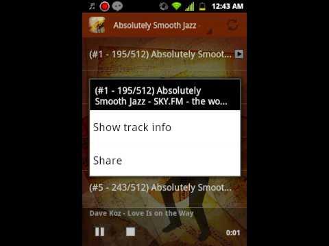 Jazz Music Android Radio App