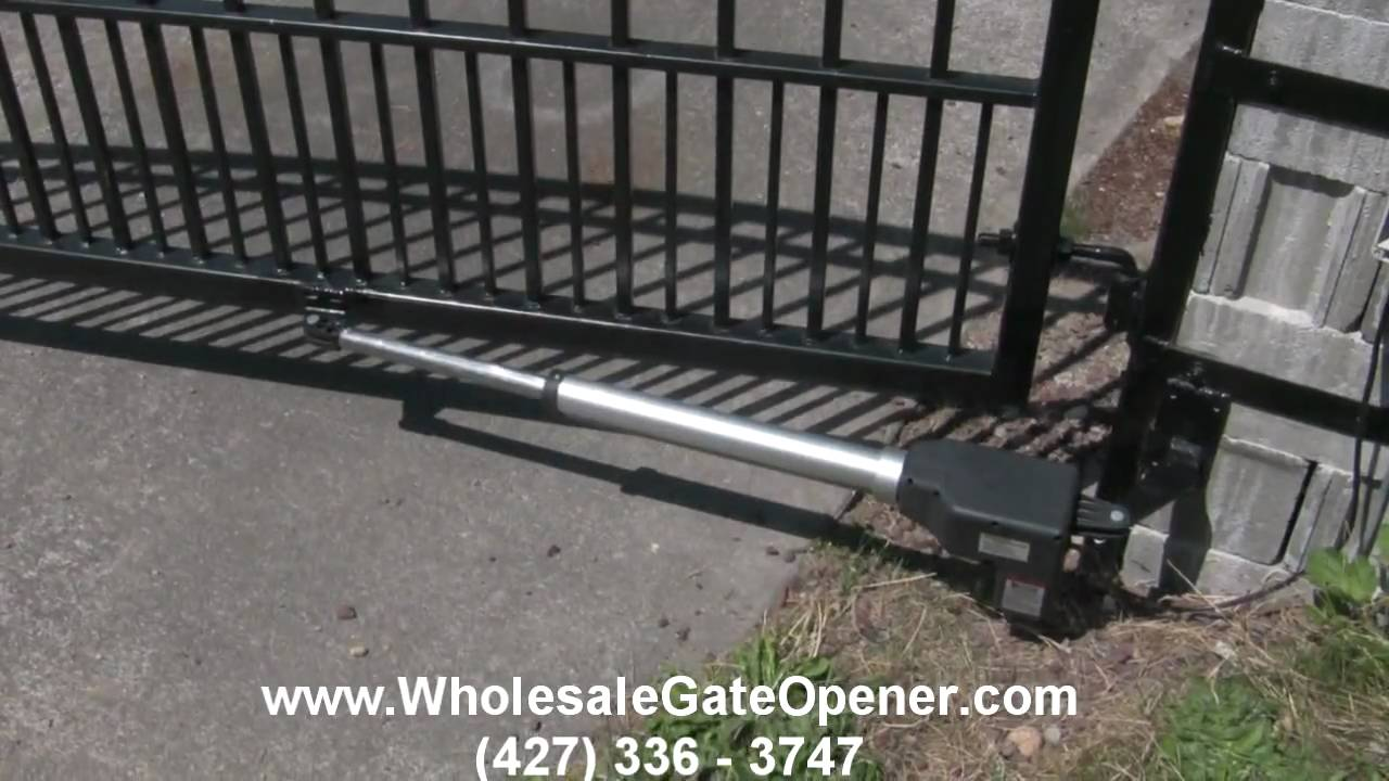 Automatic Gates Openers Residential Aleko As600 Single Swing Gate Opener