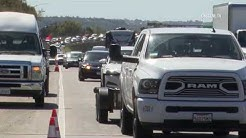 San Diego: South Bay I-5 Crash Creates Traffic Jam 03142019