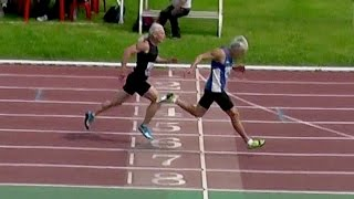 видео Бег на 100м и 200м - основы техники - Тульская лёгкая атлетика (Tula track and field)