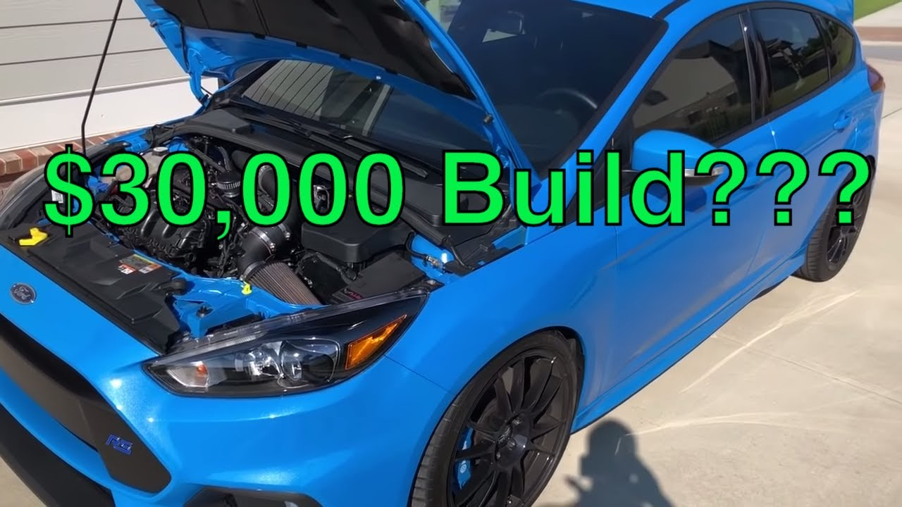 Guide to Building a 600 bhp Focus RS Monster - Ron Henry