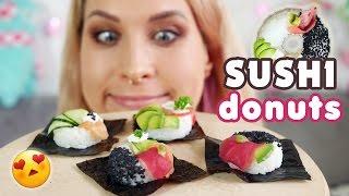 Sushi w kształcie pączków! Sushi Donuts - Papu Agi #7