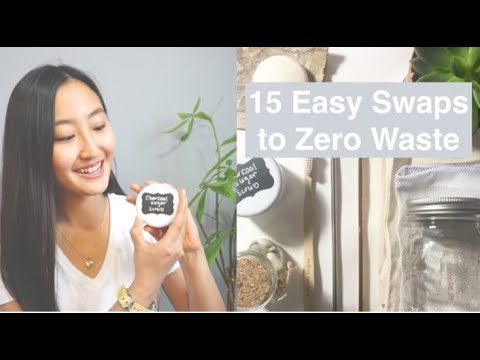 15 Easy Zero Waste Swaps l Zero Waste For Beginners l On a Budget