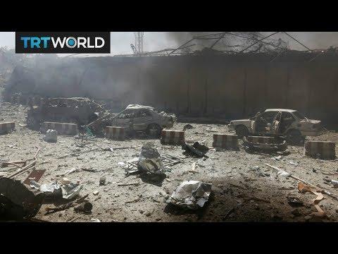 Breaking News: Car bomb blast in Afghan capital Kabul