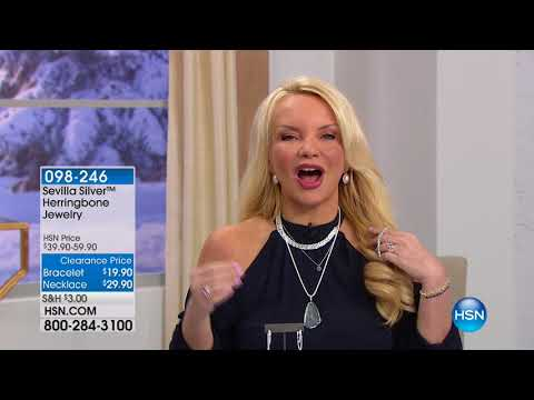 HSN | Sevilla Sterling Silver Jewelry 02.05.2018 - 02 AM