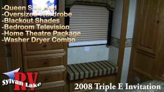 2008 Triple E Invitation Diesel Class A Motorhome